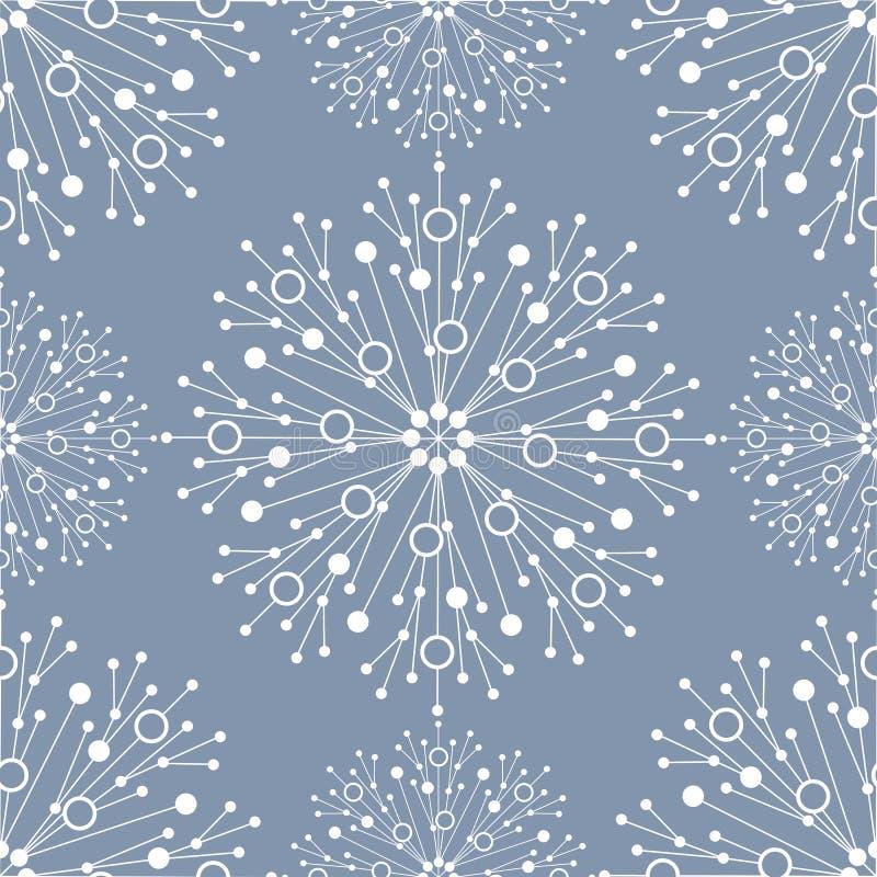 Modèle géométrique sans couture avec les lignes et les points reliés Illustration de vecteur illustration de vecteur