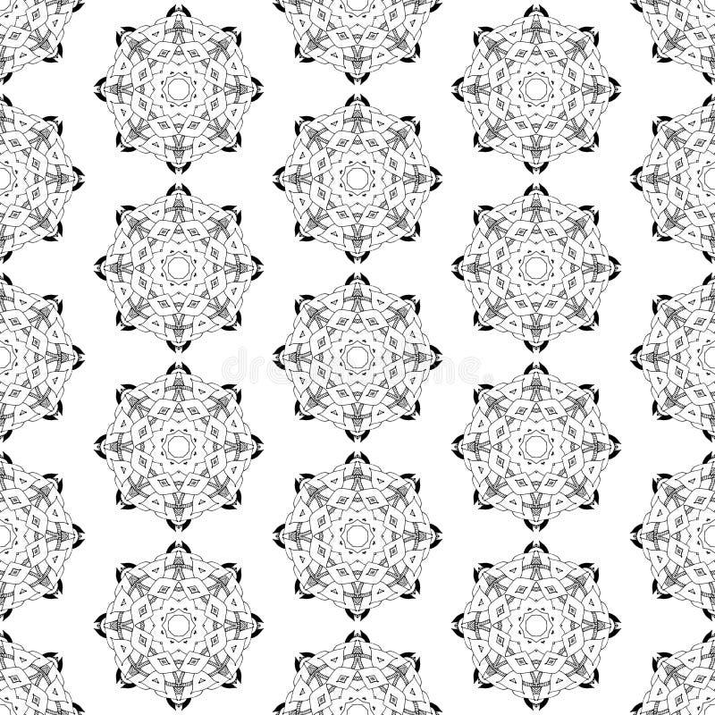 Modèle géométrique sans couture dans le style oriental illustration de vecteur