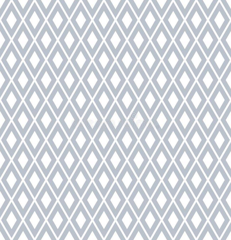Modèle géométrique sans couture de diamants illustration de vecteur
