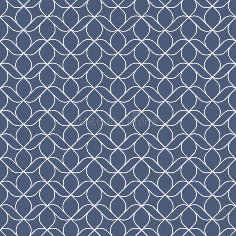 Modèle géométrique sans couture de maille de vecteur pour des textiles, conception de couverture de livre, site Web, papier peint illustration libre de droits