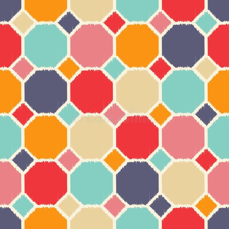 Modèle géométrique sans couture de tuiles illustration libre de droits