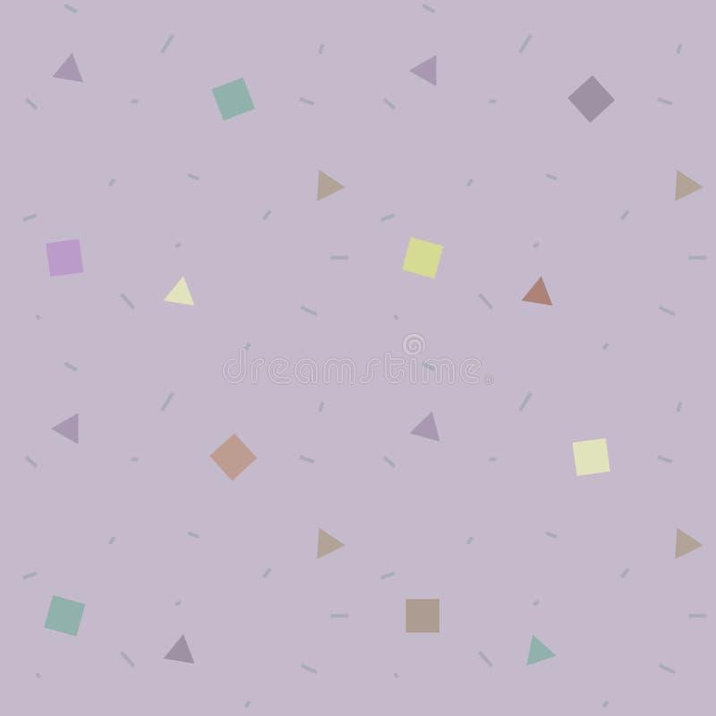 Modèle géométrique simple illustration de vecteur
