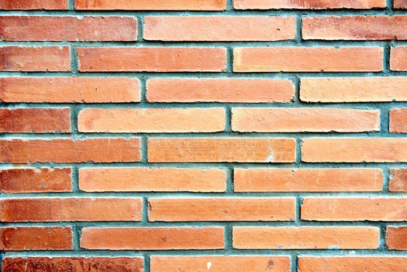 Modèle géométrique texturisé d'un mur de briques image libre de droits