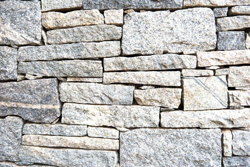 Modèle géométrique texturisé d'un mur en pierre de granit image libre de droits
