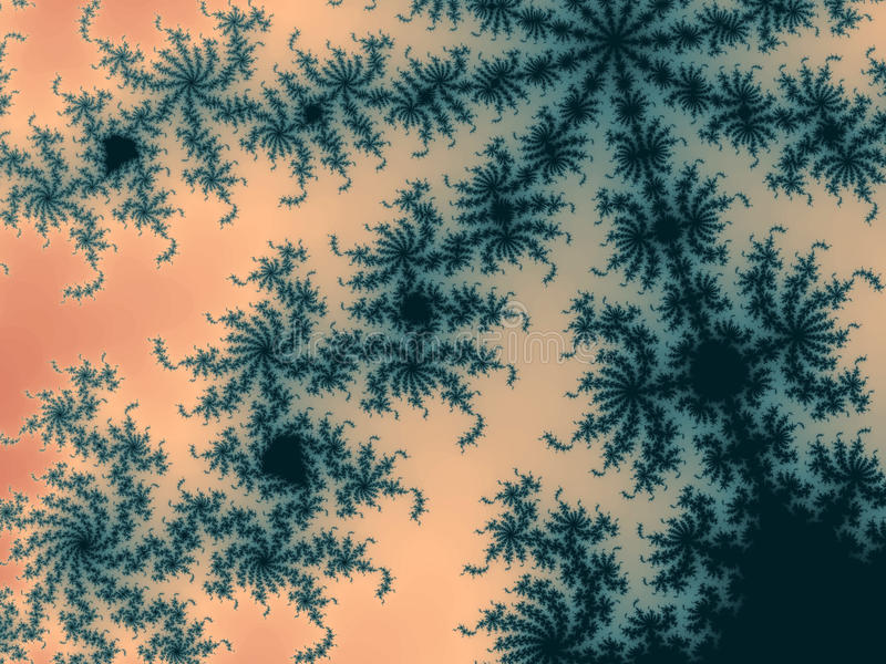 Modèle gentil de fractale photo stock