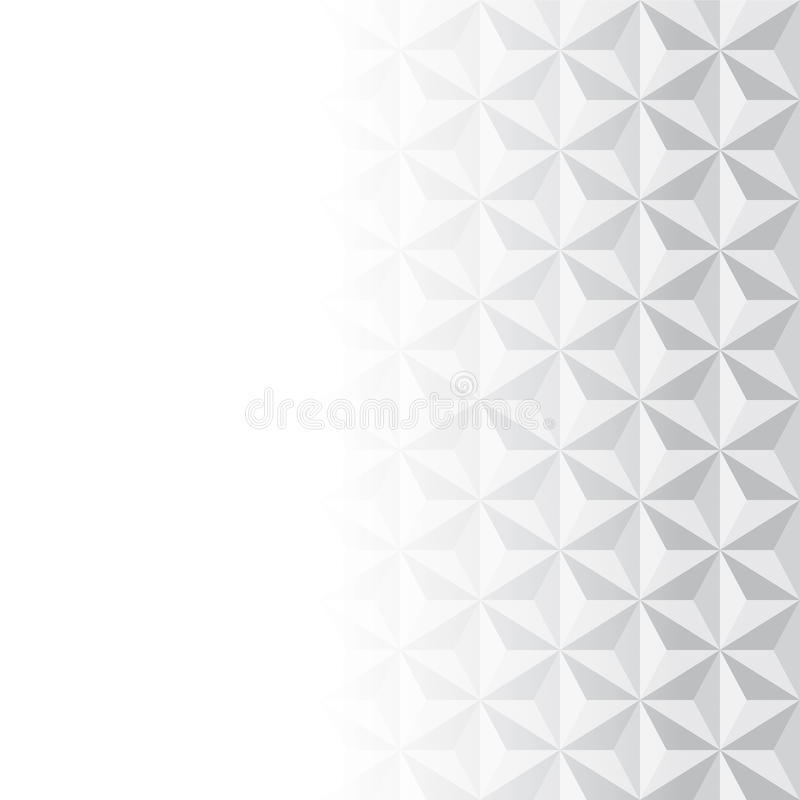 Modèle gris et blanc abstrait de vecteur illustration stock