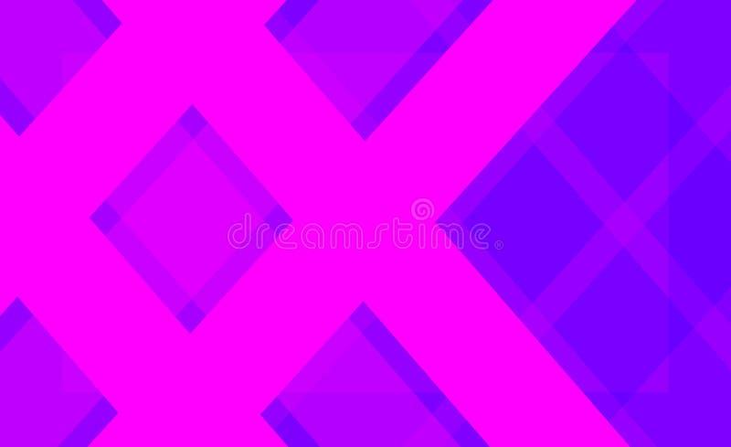 Modèle lilas couleur de fond géométrique d'abrégé sur illustration stock