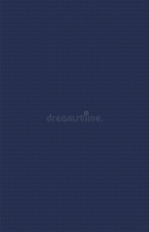 Modèle lilas de maille sur le fond de marine illustration de vecteur