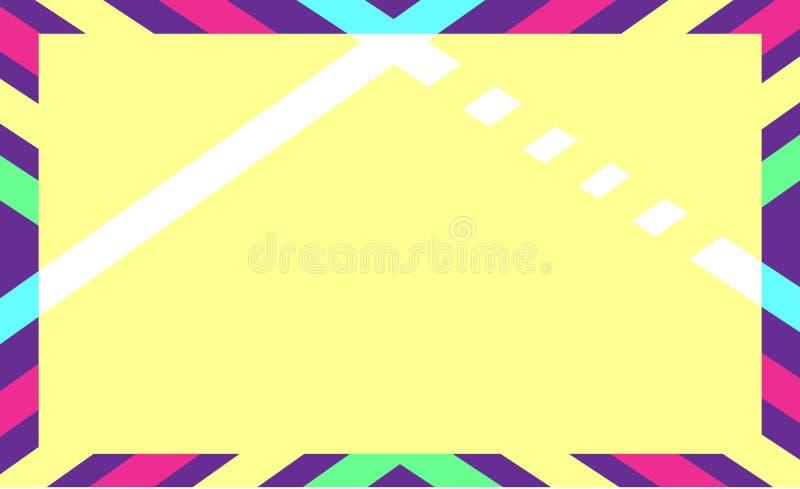 Modèle lumineux couleur de fond géométrique d'abrégé sur illustration de vecteur