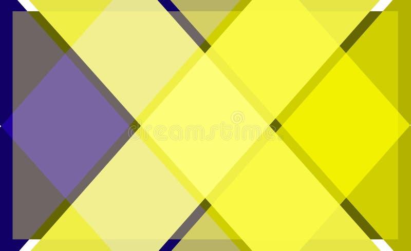 Modèle lumineux couleur de fond géométrique d'abrégé sur illustration stock