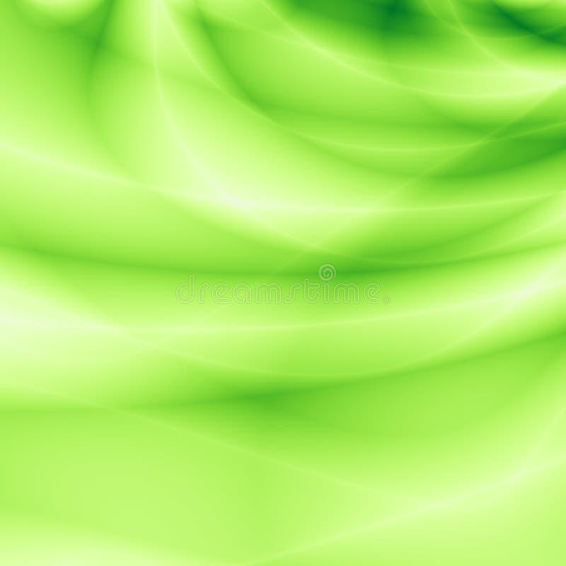 Modèle lumineux d'abrégé sur herbe verte illustration de vecteur