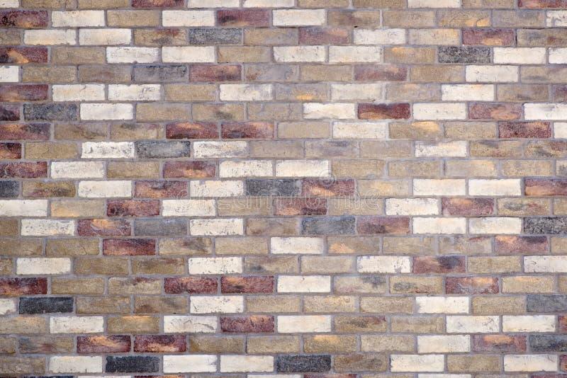 Modèle mélangé de brique photographie stock