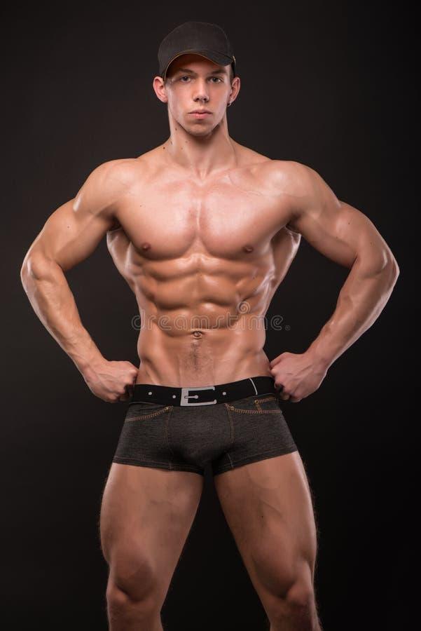 Modèle masculin convenable images libres de droits