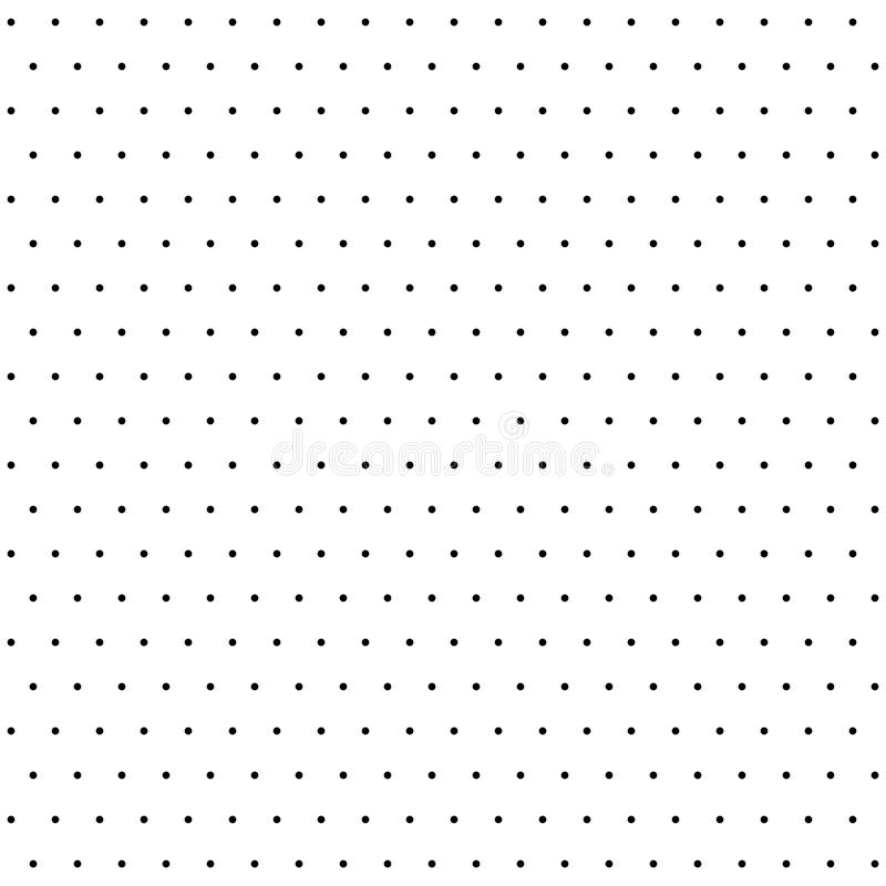 Modèle moderne sans couture de vecteur avec des points illustration libre de droits