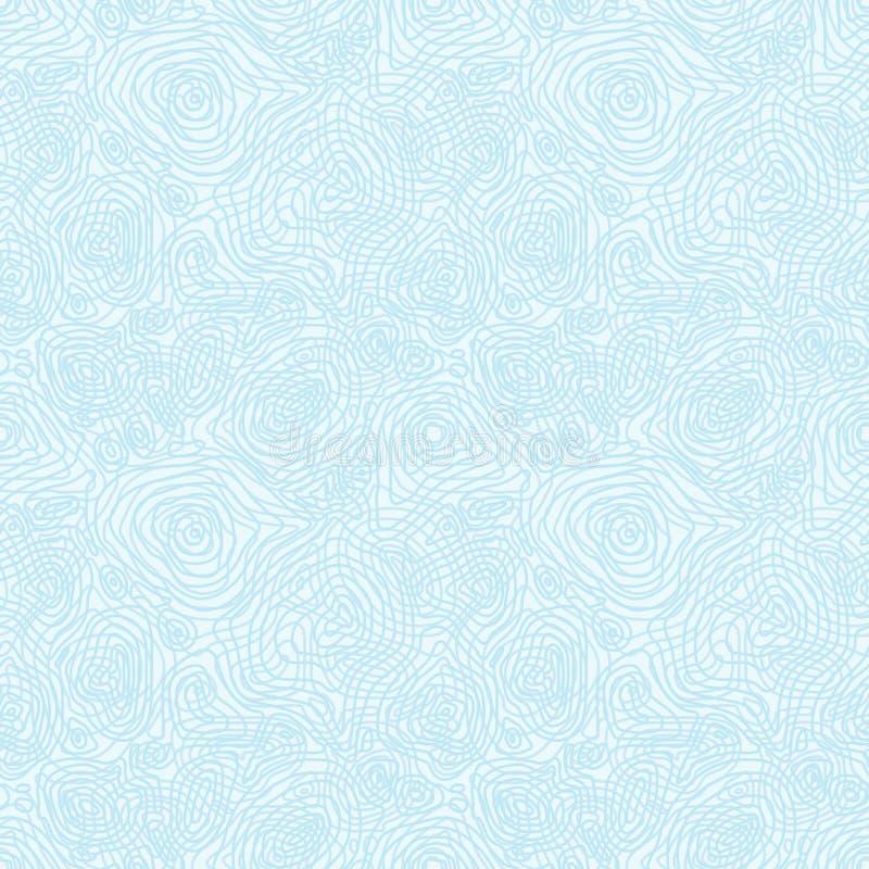 Modèle monochrome abstrait sans couture de vecteur avec c illustration libre de droits