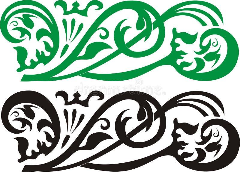 Modèle musulman illustration stock