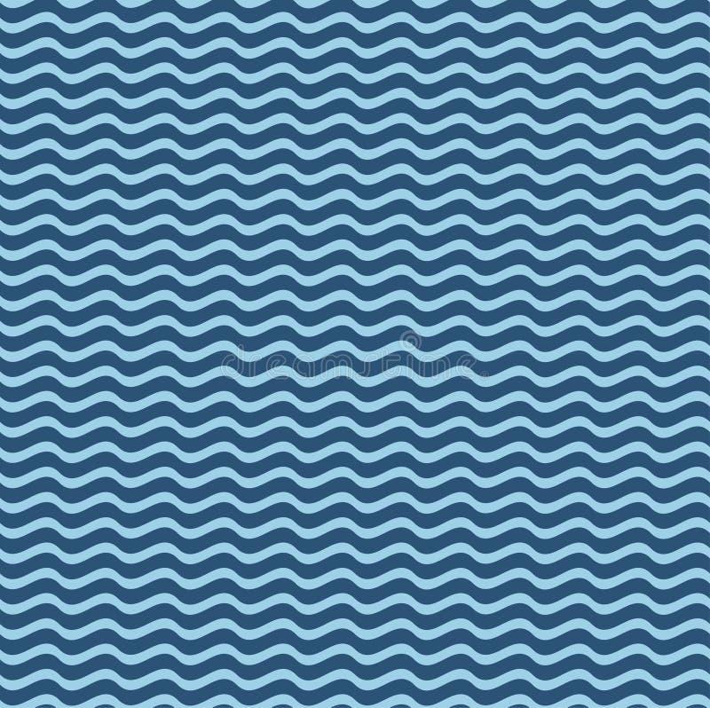 Modèle nautique de patchwork d'éléments illustration stock
