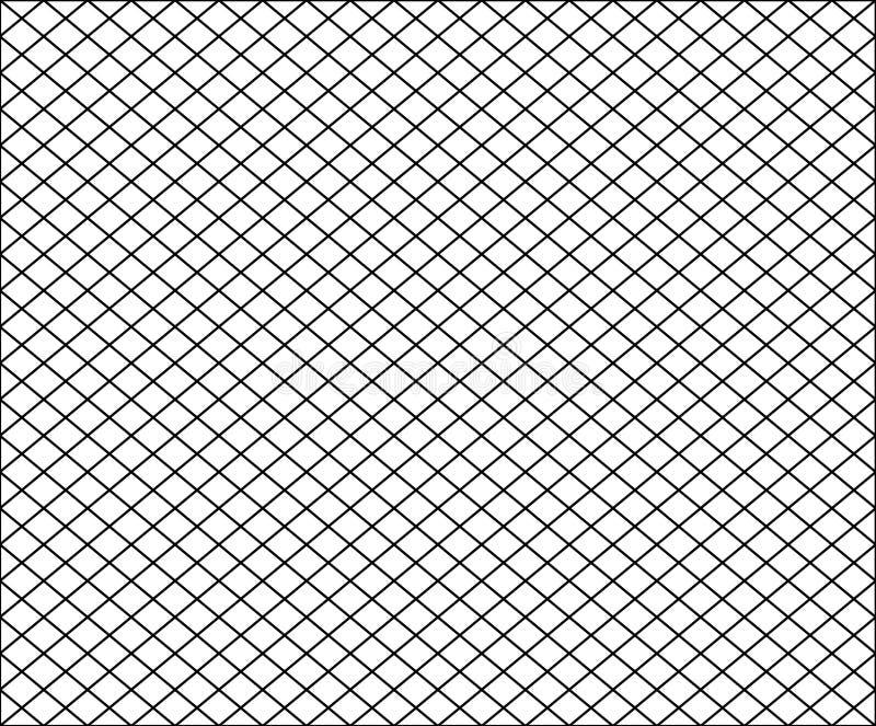 Modèle net sans couture de texture avec les places noires sur le blanc illustration de vecteur