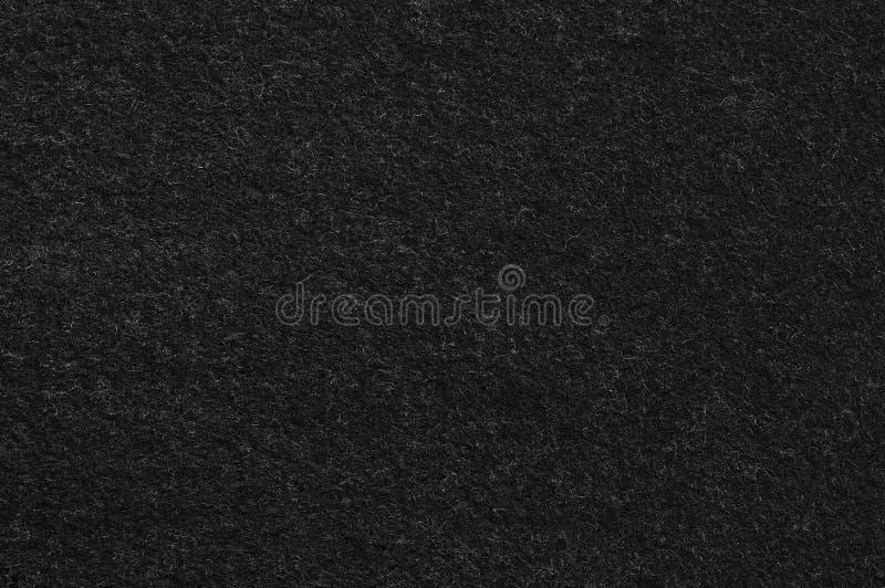Modèle noir de texture de fond de tissu de flanelle de laine de Cout de costume de vintage, grand macro plan rapproché texturisé  photos stock