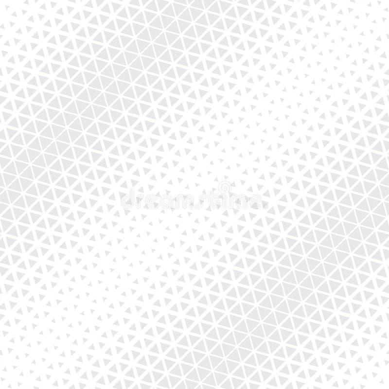 Modèle noir et blanc géométrique abstrait d'image tramée de triangle de conception graphique illustration de vecteur