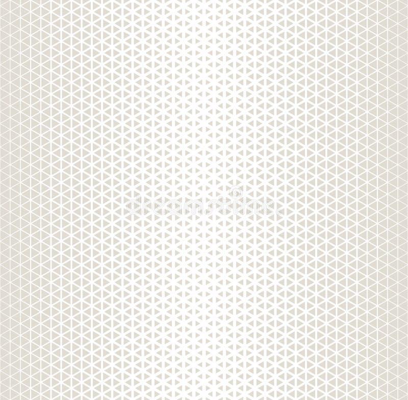 Modèle noir et blanc géométrique abstrait d'image tramée de triangle de conception graphique illustration libre de droits