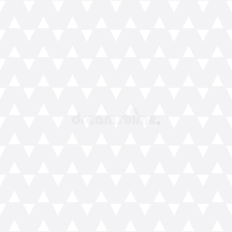 Modèle noir et blanc géométrique abstrait de triangle d'impression de conception graphique illustration libre de droits