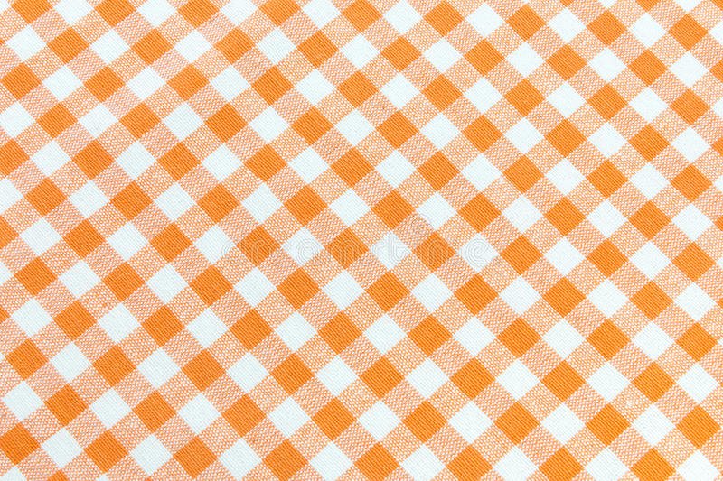 Modèle orange de nappe photo stock