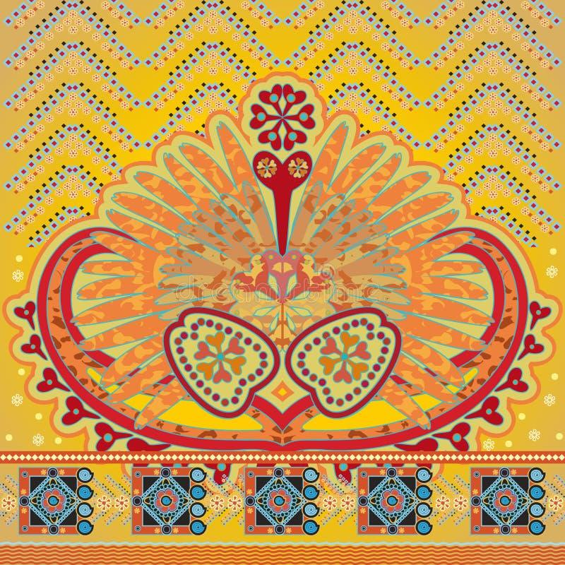 Modèle oriental illustration de vecteur