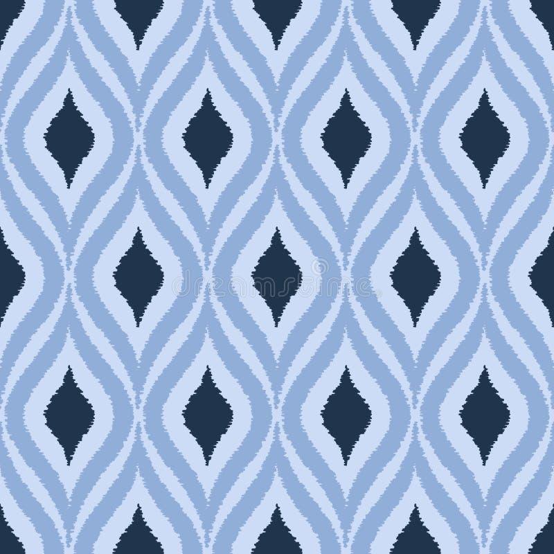 Modèle ornemental texturisé sans couture illustration de vecteur