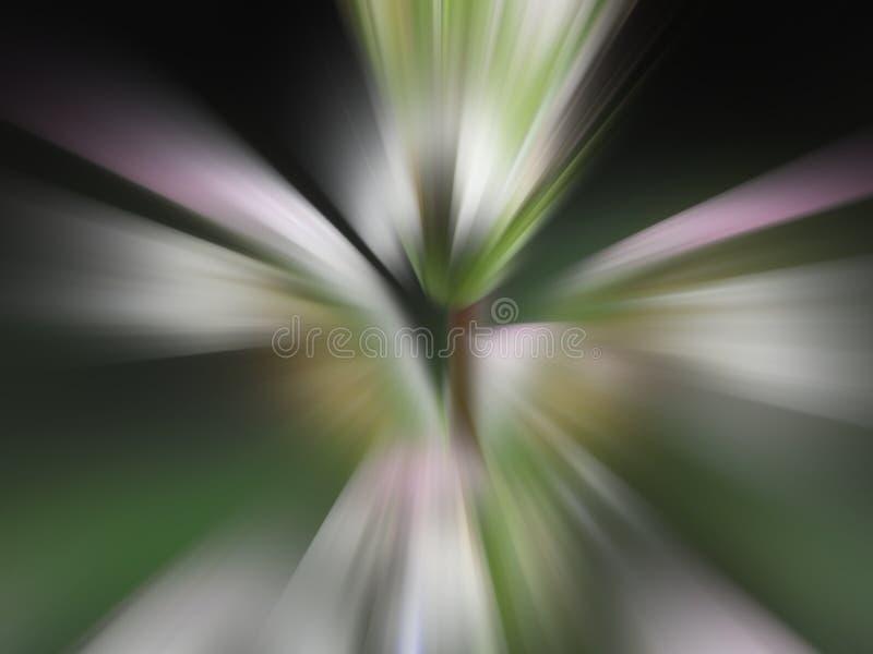 Modèle radial de tache floue image libre de droits