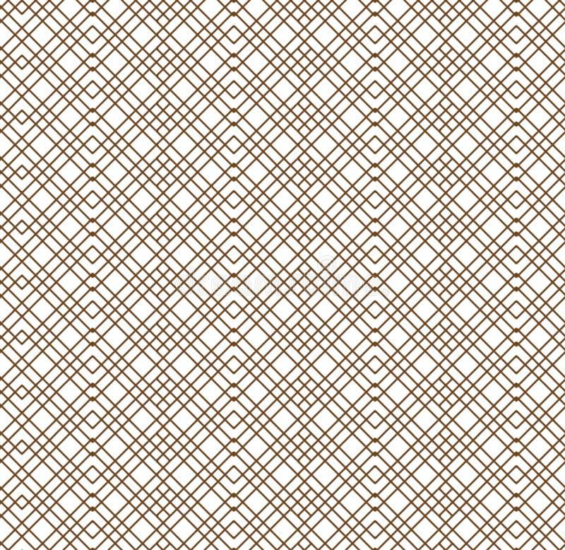 Modèle rayé coloré de résumé sans couture Le modèle sans fin peut être employé pour le carreau de céramique, papier peint illustration libre de droits