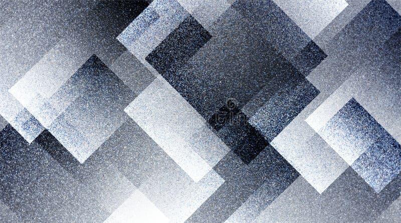 Modèle rayé et blocs ombragés par fond gris abstrait dans les lignes diagonales avec la texture grise de cru photographie stock