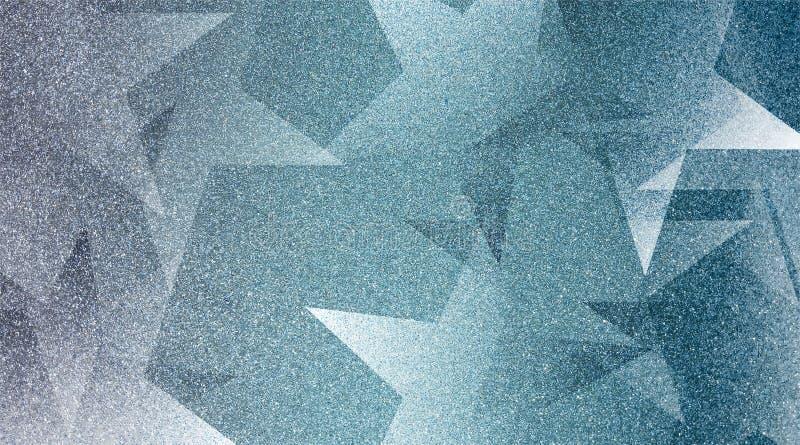 Modèle rayé et blocs ombragés par fond gris abstrait dans les lignes diagonales avec la texture grise de cru images libres de droits