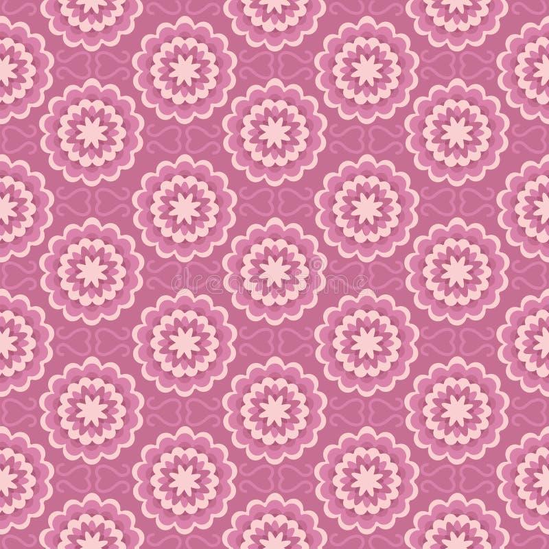 Modèle rose illustration de vecteur