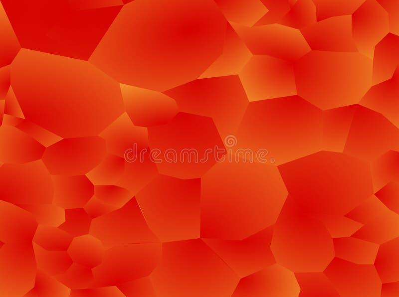 Modèle rouge abstrait de gradient de texture de fond de braise illustration stock