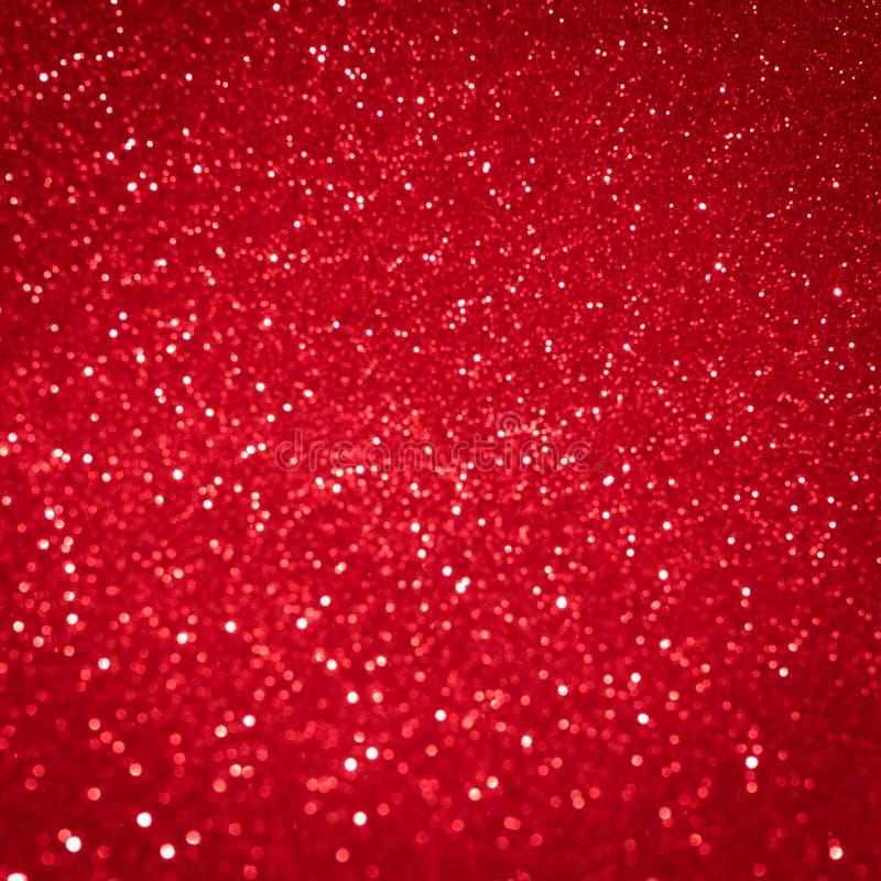 Modèle rouge de vacances de Noël de lumière de fond Decorat abstrait photographie stock