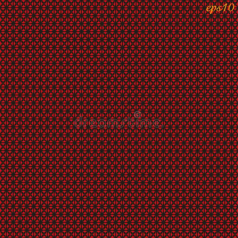 Modèle rouge noir de texture illustration de vecteur