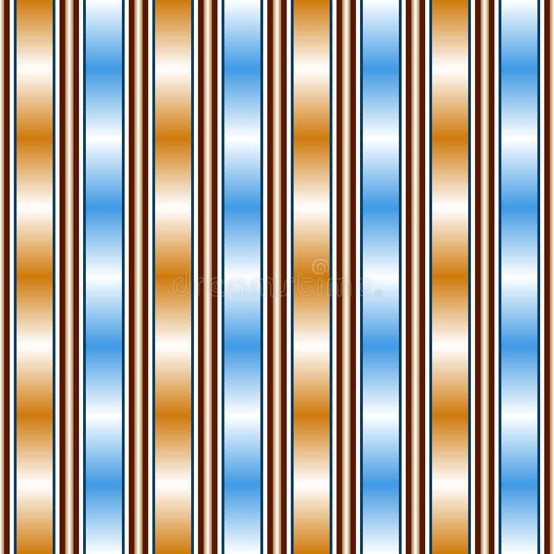 Modèle sans couture avec de belles transitions de couleur de gradient illustration libre de droits
