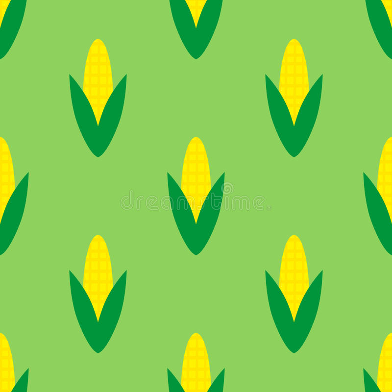 Modèle sans couture avec des grains illustration libre de droits