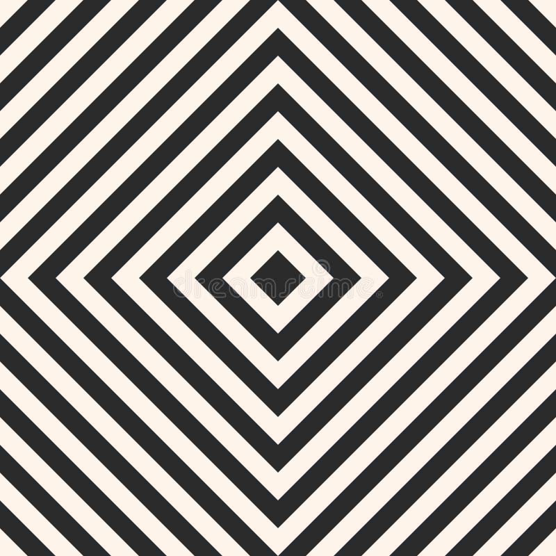 Modèle sans couture avec des places, rayures, lignes diagonales illustration de vecteur