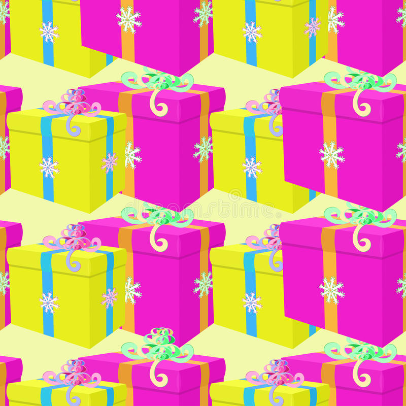 Download Modèle Sans Couture Avec Des Présents De Noël Illustration De Vecteur Illustration de Vecteur - Illustration du sphère, carrot: 77163482