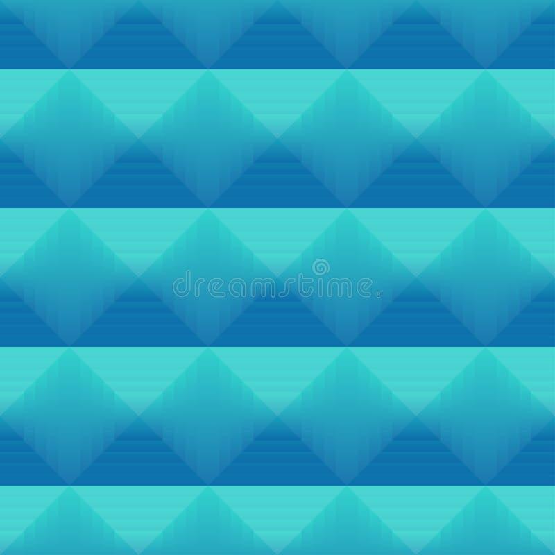 Modèle sans couture avec les places colorées de gradient illustration stock