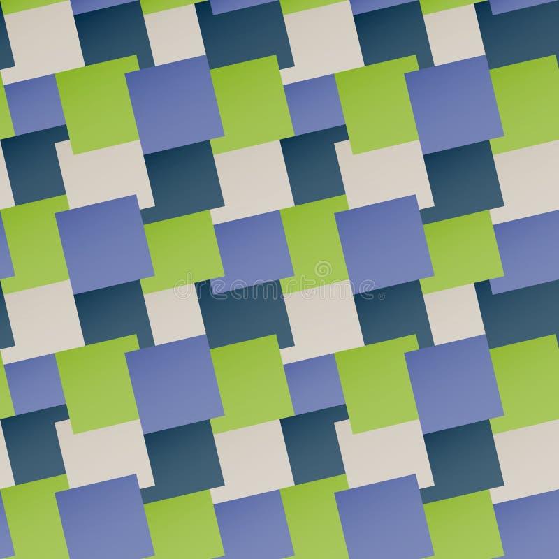 Modèle sans couture avec les places colorées Dirigez le fond géométrique illustration stock