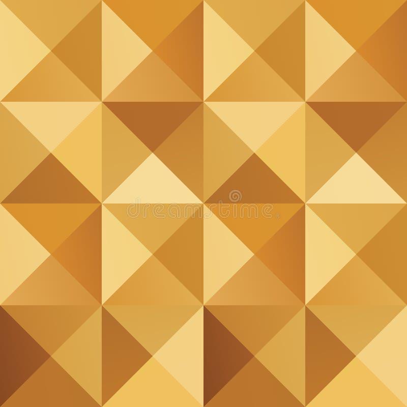 Modèle sans couture coloré d'or simple géométrique Affiche minimaliste abstraite Fond scandinave illustration stock
