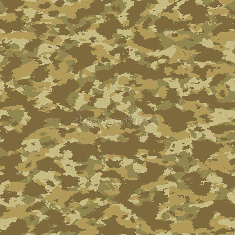 Modèle sans couture coloré de camouflage de vecteur de résumé illustration libre de droits