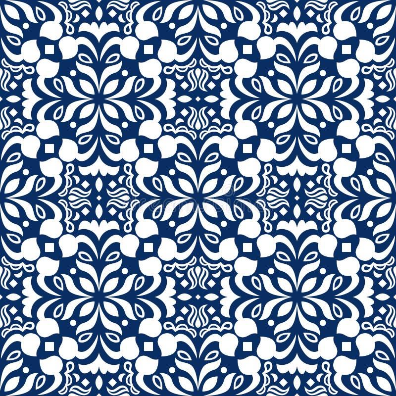 Modèle sans couture décoratif d'arabesque photo stock
