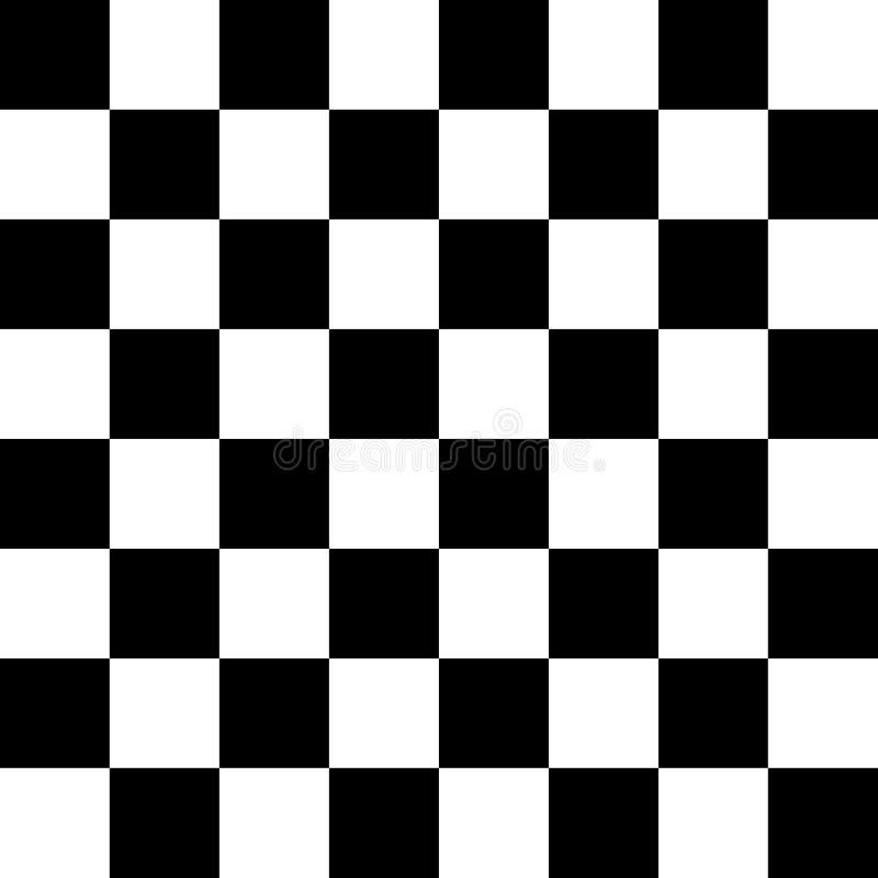 Modèle sans couture d'échecs illustration libre de droits
