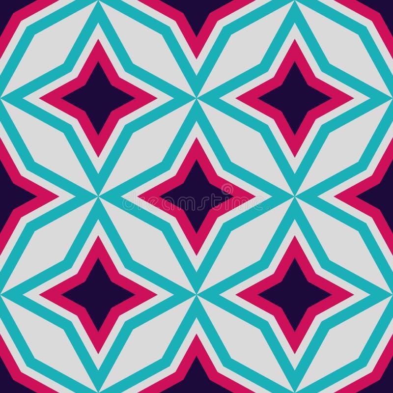 Modèle sans couture d'étoile classique Illustration de vecteur illustration de vecteur