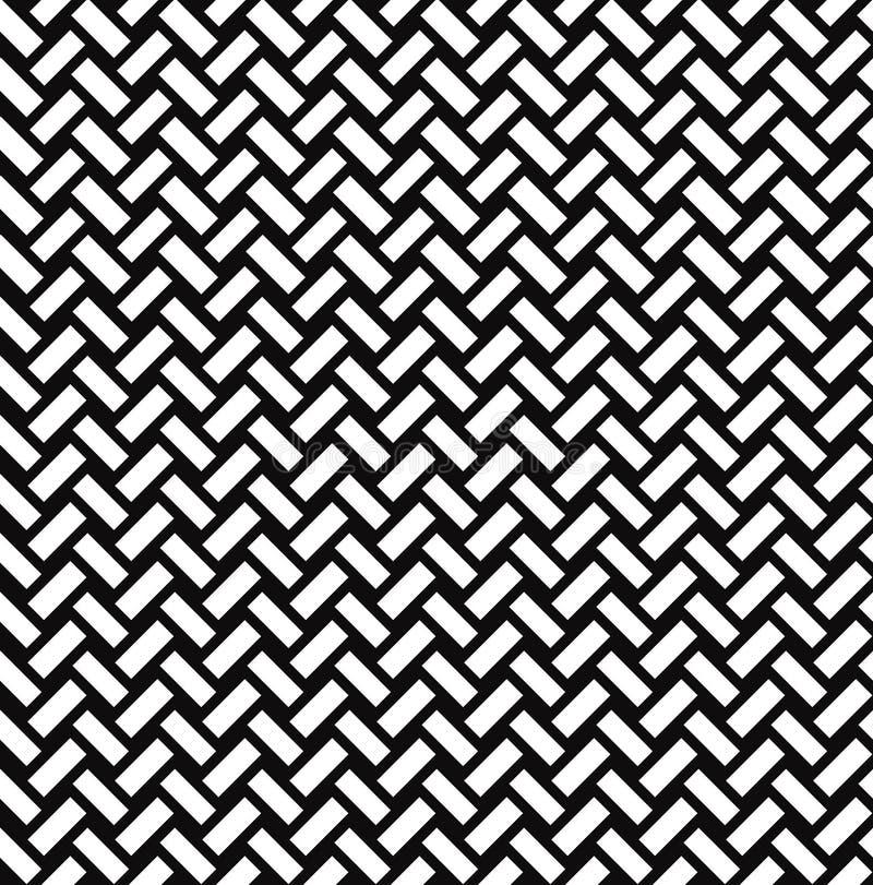 Modèle sans couture d'Abstact Ornement de brique Ligne diagonale texture illustration libre de droits