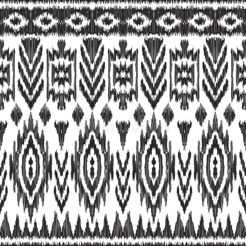 Modèle sans couture d'Atzec illustration de vecteur